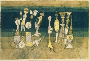 """""""Comedy"""" (1921) by Paul Klee"""